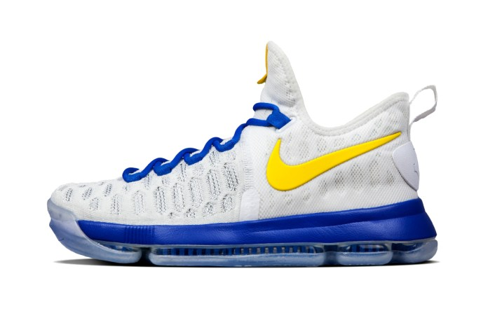 Nike Wastes No Time in Offering the KD 9 in Customizable GSW Colorways