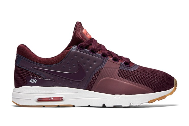 Nike Offers up a Maroon Take for Its Latest Air Max Zero WMNS