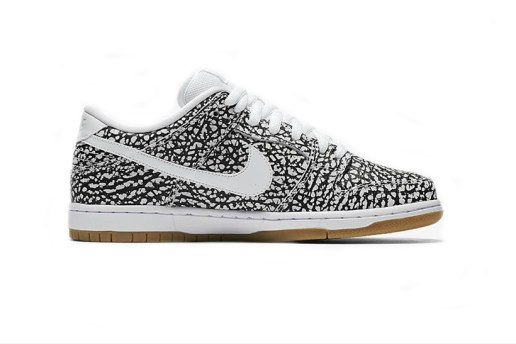 Nike SB Dunk Low Is Set to Drop in an Asphalt-Inspired Print