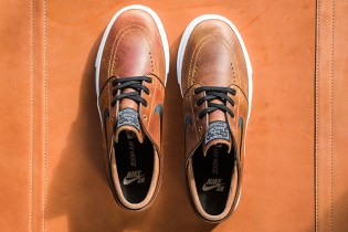 Nike SB Zoom Janoski Gets Dressed in a Distressed Leather Upper