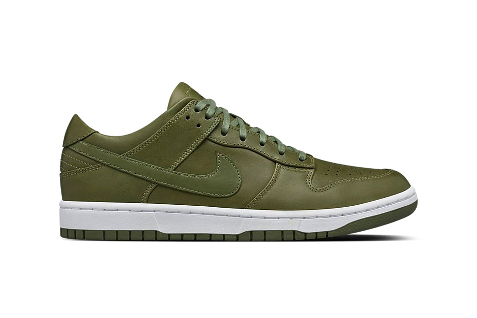 NikeLab's Dunk Lux Low Goes Green