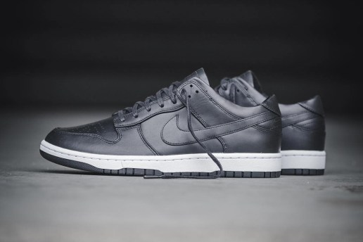 NikeLab Slaps the Dunk Low With a Sleek Monochromatic Finish