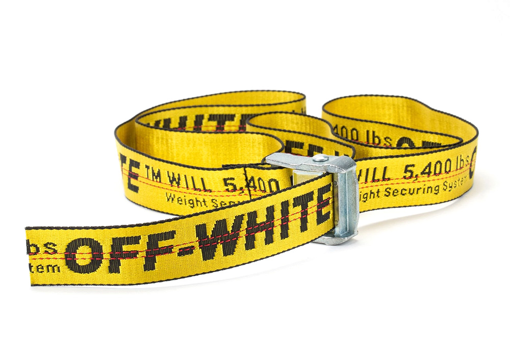 """Keep It Understated With OFF-WHITE's """"Industrial Belt"""""""