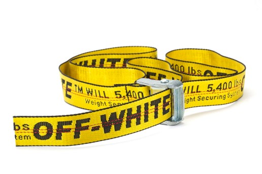 "Keep It Understated With OFF-WHITE's ""Industrial Belt"""