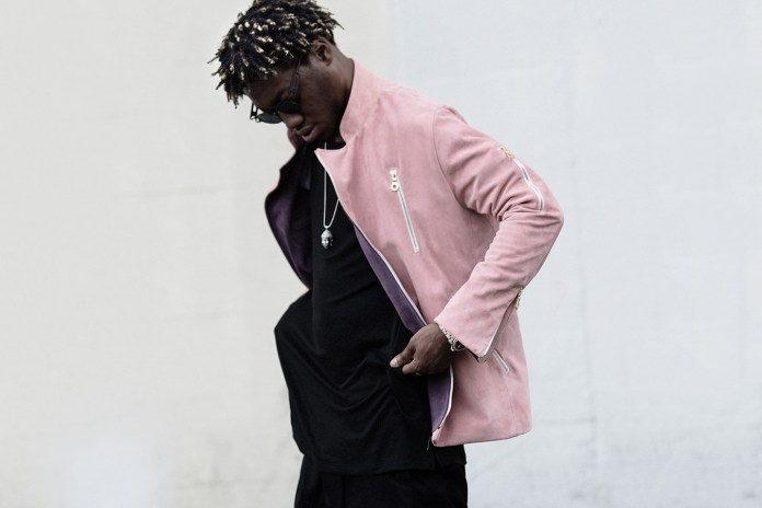 OG Maco Models OPEN NINE FIVE's 2017 Spring/Summer Preview