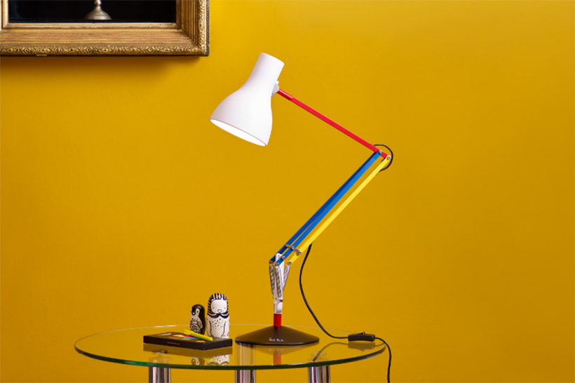 Paul Smith x Anglepoise Unveil Edition Three of the Type 75 Lamp