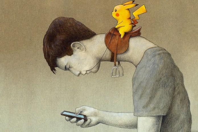 Artist Paweł Kuczyński Shows Us His Satirical Take on 'Pokémon GO'