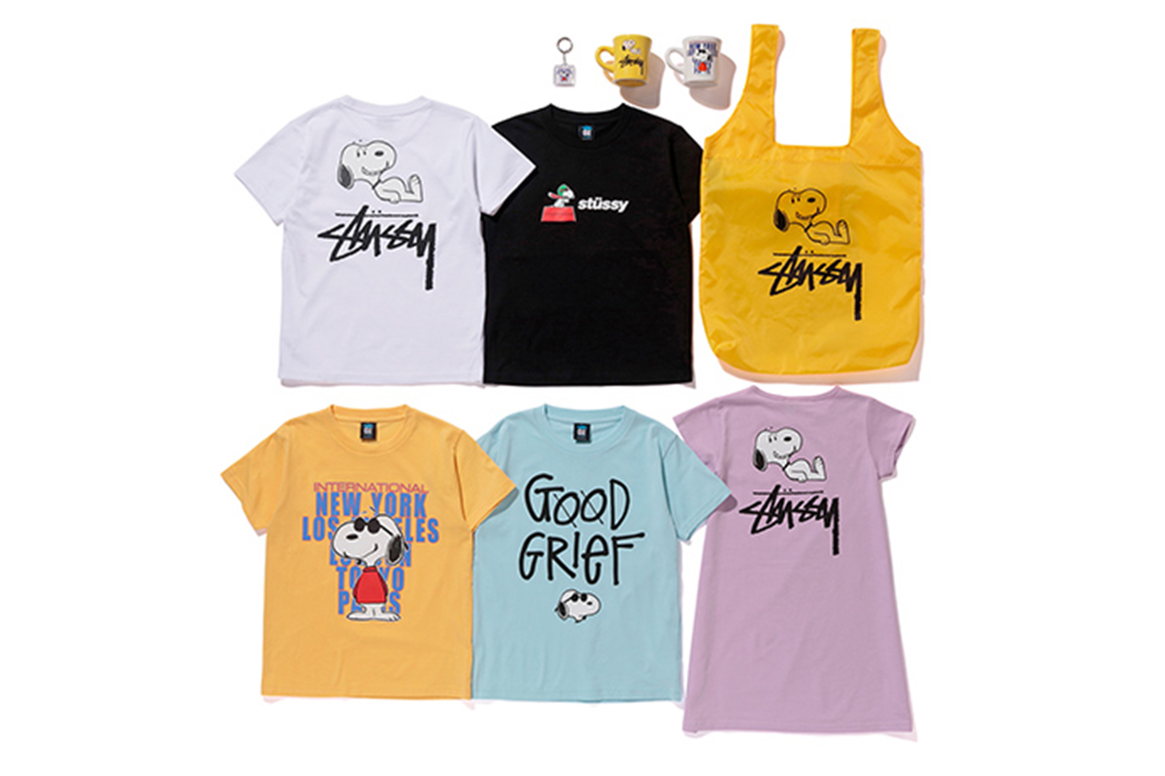 #hypebeastkids: 'Peanuts' x STÜSSY Kids 2016 Summer Collection