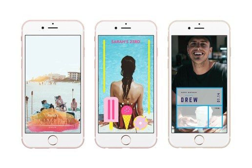 Businesses Dedicated to Designing Snapchat Geofilters Are Now a Thing