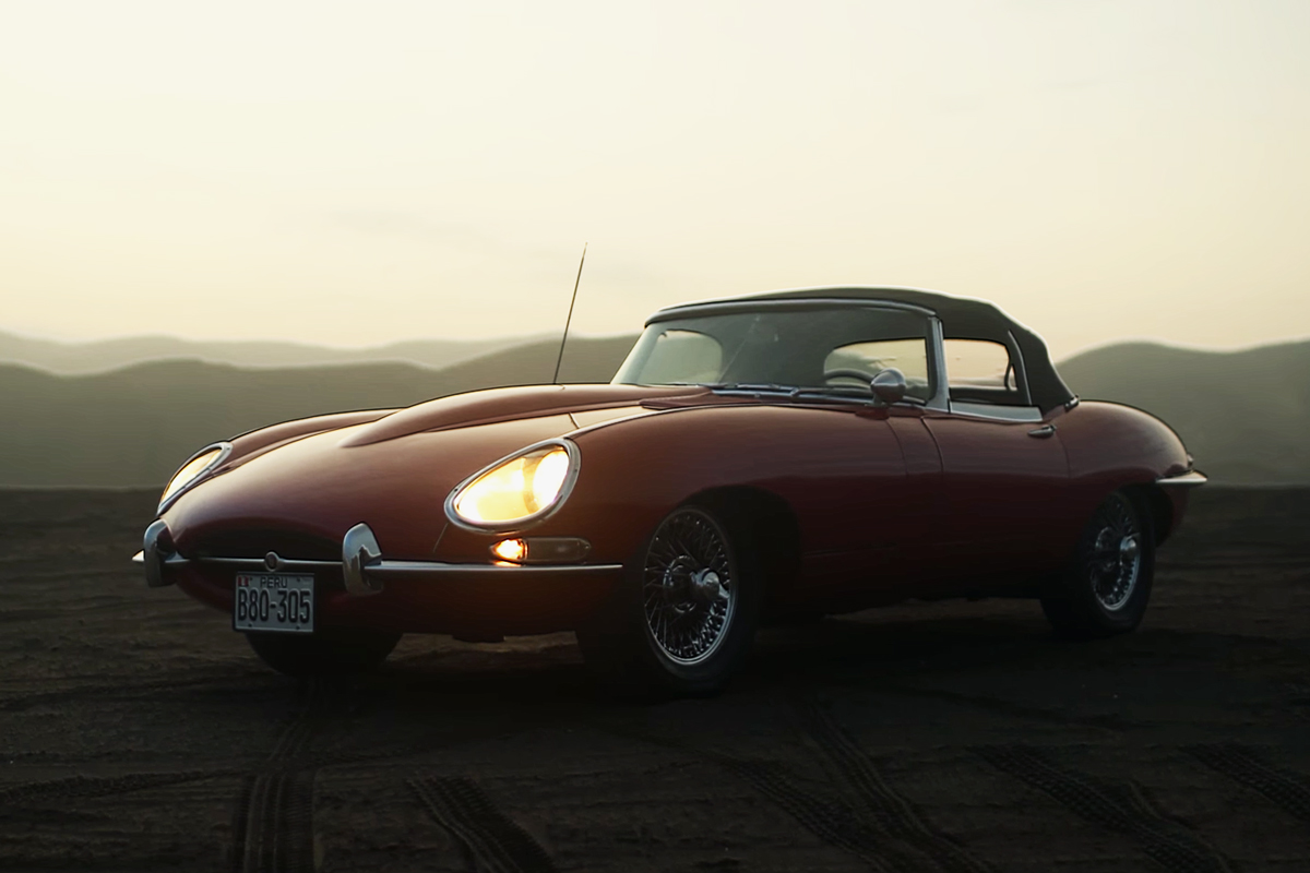 Petrolicious Showcases the Unique Beauty of a Jaguar E-Type in Peru