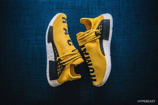 A Closer Look at the Pharrell Williams x adidas Originals Hu NMD