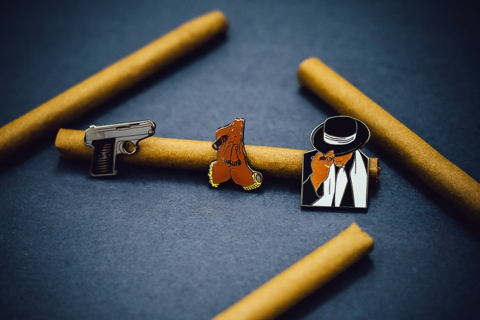 "PINTRILL Teams up With Jonathan Mannion for ""Reasonable Doubt"" Pin Set"