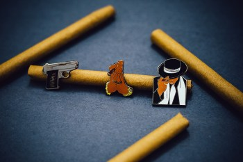 """PINTRILL Teams up With Jonathan Mannion for """"Reasonable Doubt"""" Pin Set"""