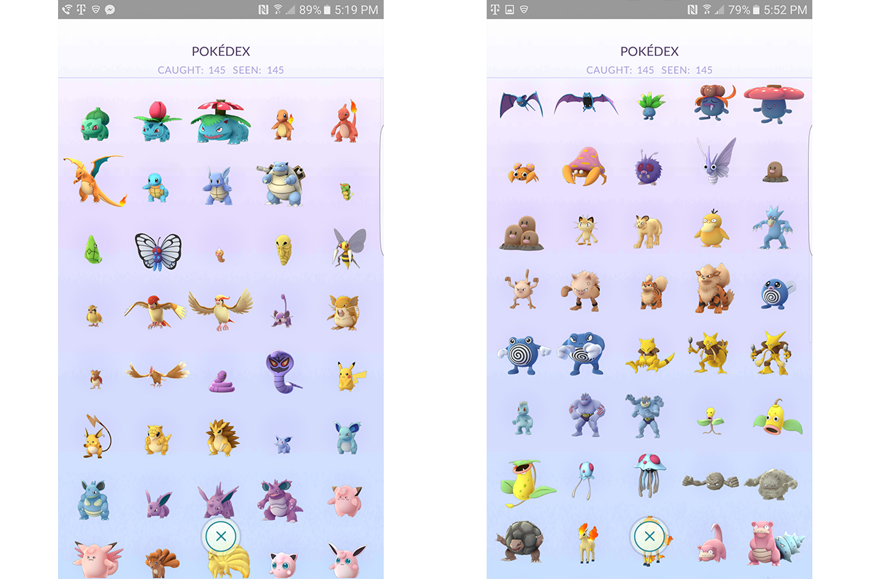 Pokemon Number S Name Images Pokemon Images - This pokmon go player is the first person to catch them all
