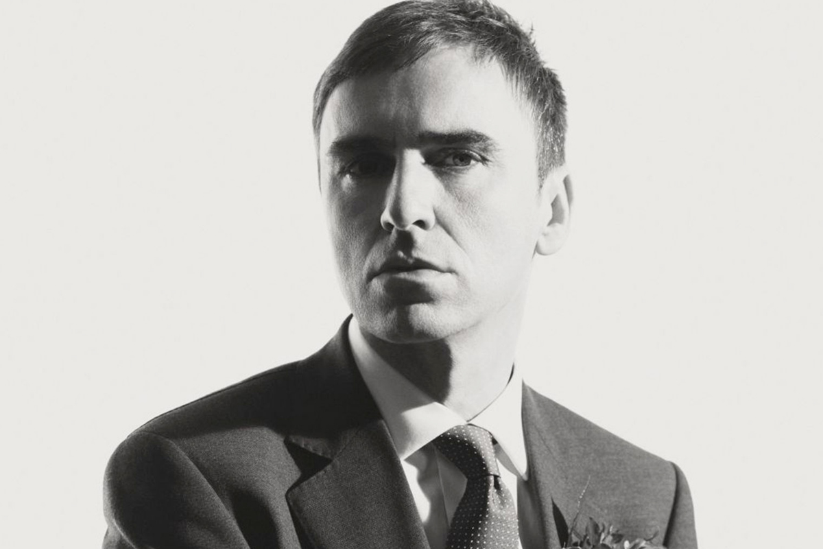 Raf Simons Reveals His Favorite Sneakers to Wear in This 'Wall Street Journal' Interview