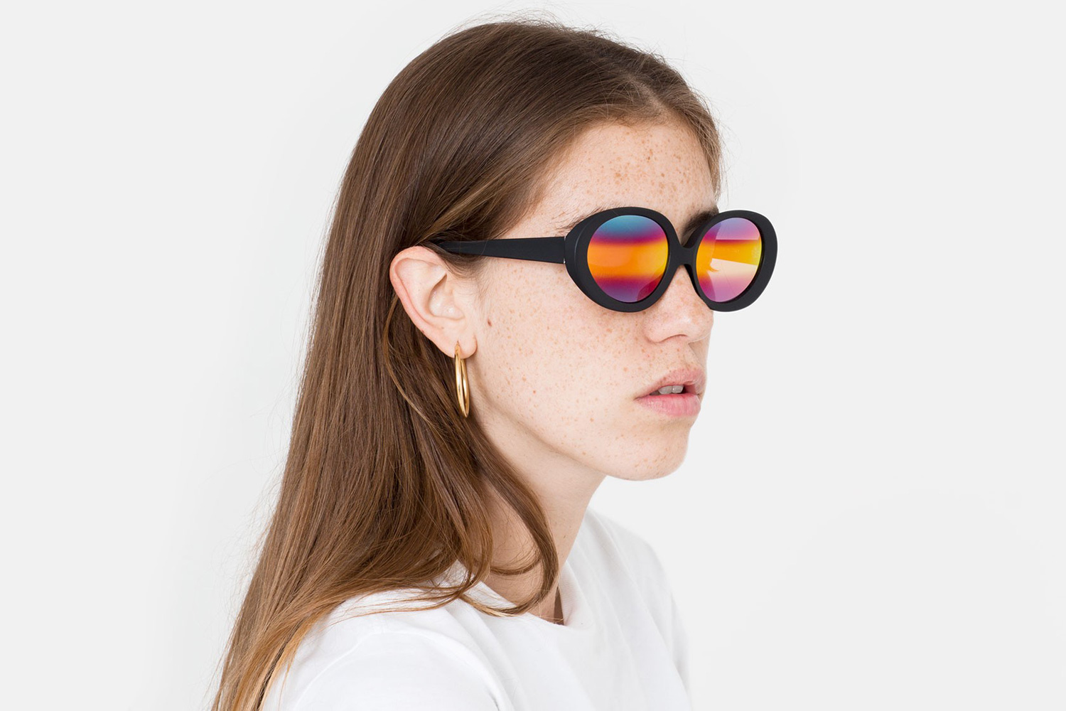 RETROSUPERFUTURE Releases a Groovy Pair of Rainbow-Colored Sunglasses