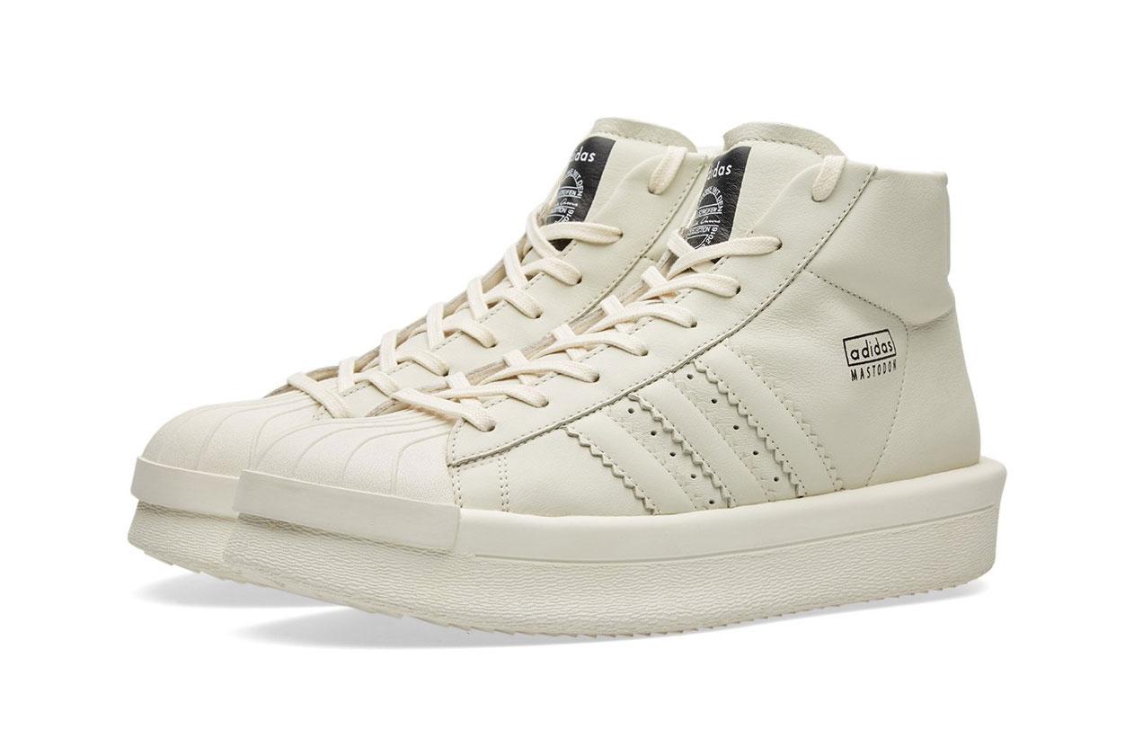 Rick Owens and adidas Unveil the Mastodon Sneaker
