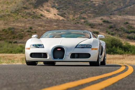 RM Sotheby's Is Set to Auction off This Sleek Bugatti Veyron Grand Sport