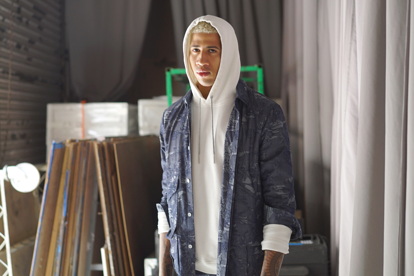 Take a Look Backstage at the Rochambeau 2017 Spring/Summer Show