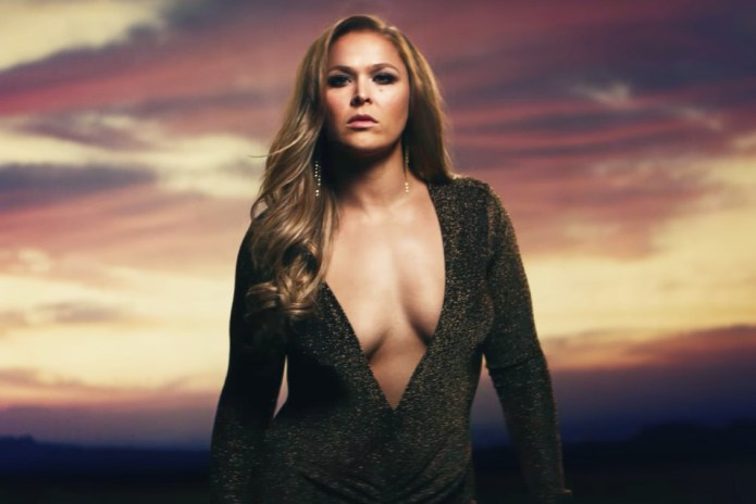 "Ronda Rousey Looks ""Perfect"" in New Reebok Ad"