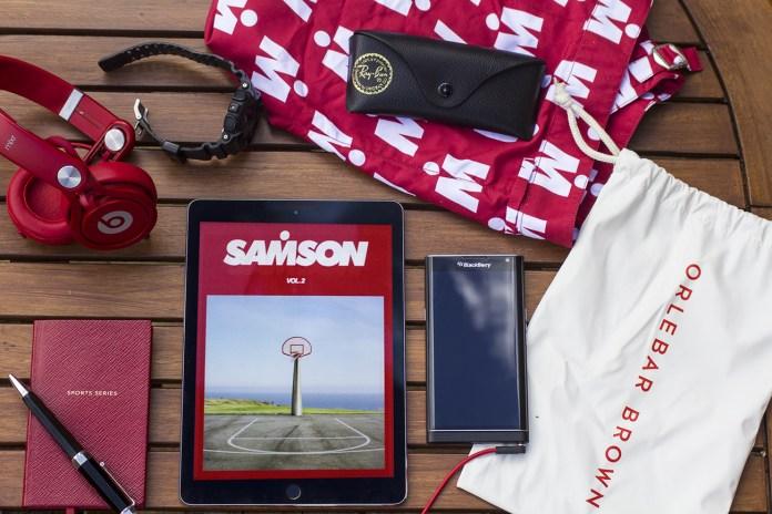 'SAMSON' Magazine's Volume 2 Explores the Beauty Sports Embodies