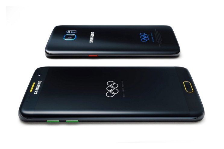Samsung Unveils a Galaxy S7 Edge Exclusively for Rio Olympians