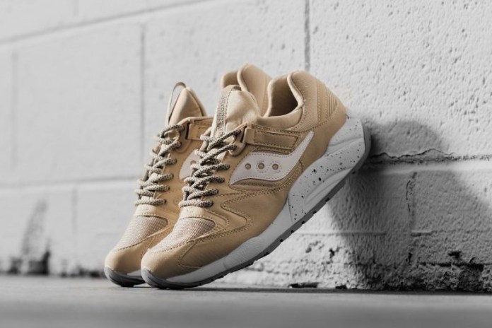 """The Saucony Grid 9000 Goes Simple in """"Wheat"""""""