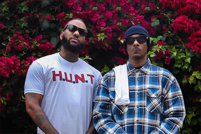 Snoop Dogg and The Game Hold Peaceful Demonstration at LAPD Headquarters