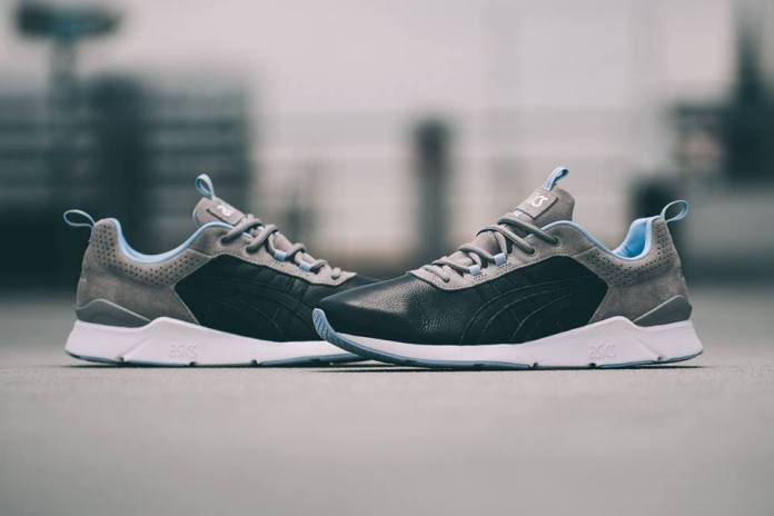 """Solebox & ASICS Supplement Their """"Blue Carpenter Bee"""" Collaboration With the GEL-Lyte Runner"""