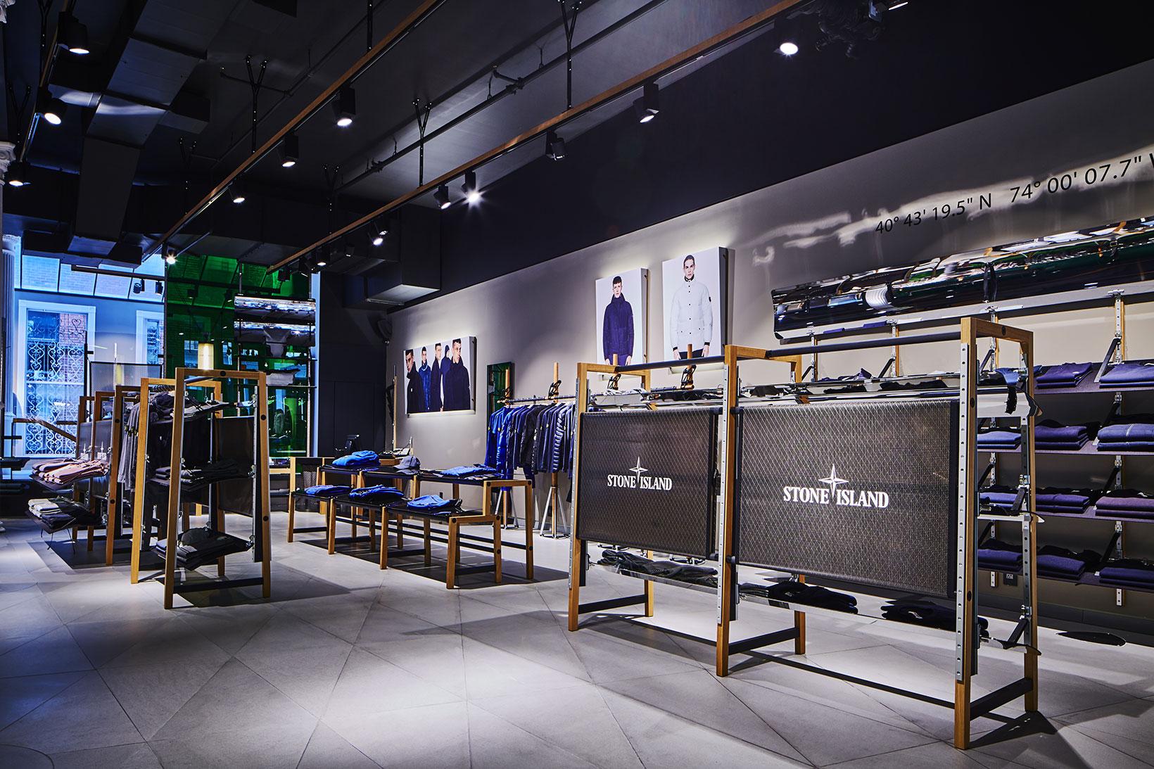 Stone Island NYC Flagship Store Soho Location