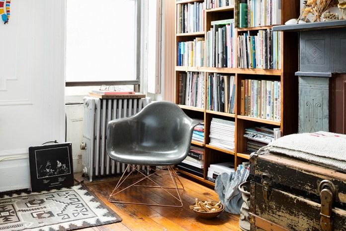 STÜSSY Livin' GENERAL STORE Taps Modernica for a Fiberglass Arm Shell Chair