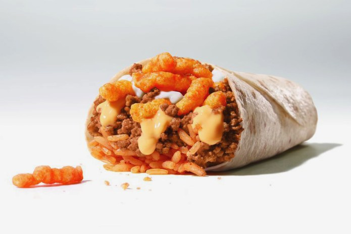 Taco Bell to Introduce the Cheetos Burrito Next Month