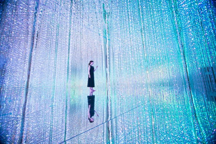 teamLab Brings Its Largest LED Installation to Tokyo