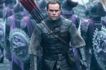 Picture of Long Haired Matt Damon Battles Mystical Monsters in 'The Great Wall'