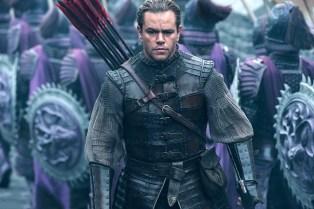 Long Haired Matt Damon Battles Mystical Monsters in 'The Great Wall'