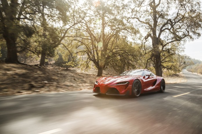 Toyota Will Finally Resurrect the Supra in 2018