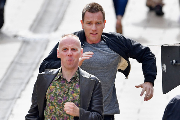 'Trainspotting 2' Films in Edinburgh With Ewan McGregor and Ewen Bremner