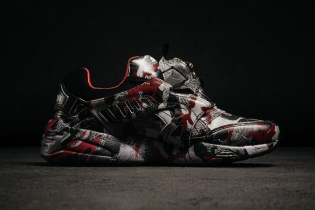 Trapstar Outfits the PUMA Disc Blaze in Fiery Camouflage