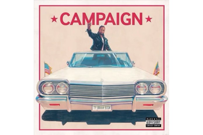 "Ty Dolla $ign Unleashes New Single ""Campaign"" Alongside Future"