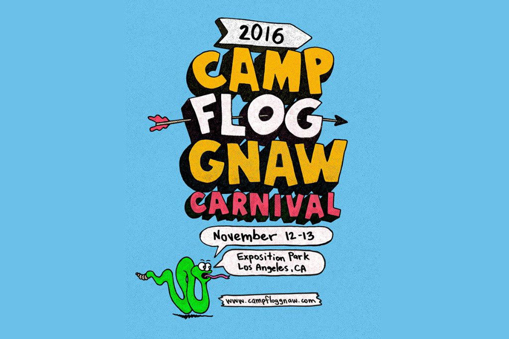 Tyler, The Creator Officially Announces the Return of Camp Flog Gnaw Carnival for 2016