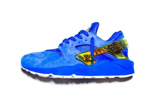 "UNDEFEATED Unveils an Exclusive Suede ""LA"" Huarache"