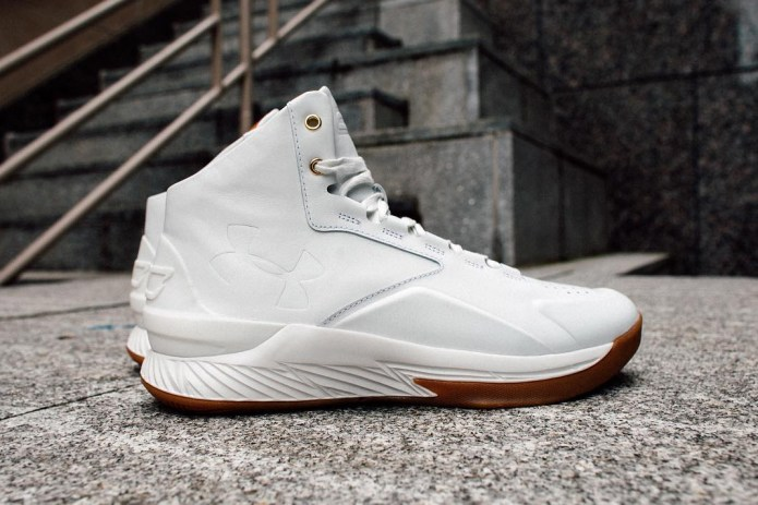 Under Armour Curry Lux Gets a White Revamp