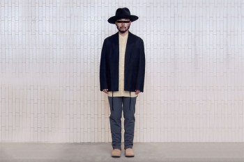 Poggy Models Sophisticated Outerwear & Smart Suits From UNITED ARROWS & SONS' Latest Collection
