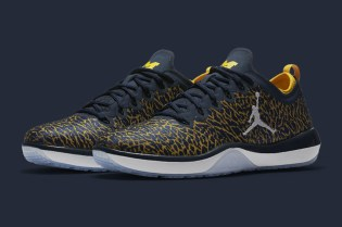 The University of Michigan Gets Its Own Jumpman Trainers
