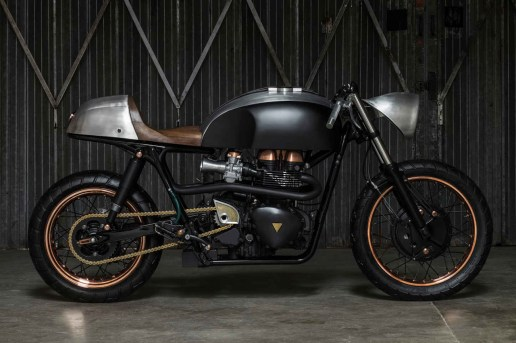Death Machines of London's Latest Motorcycle is Clad in a Copper Suit