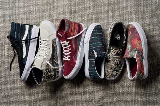 "The Vans ""Italian Weave"" Pack Puts a Play on Sophisticated Patterns"