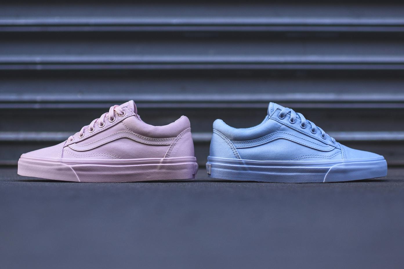 Vans' Old Skool Gets Dipped in Pink and Blue