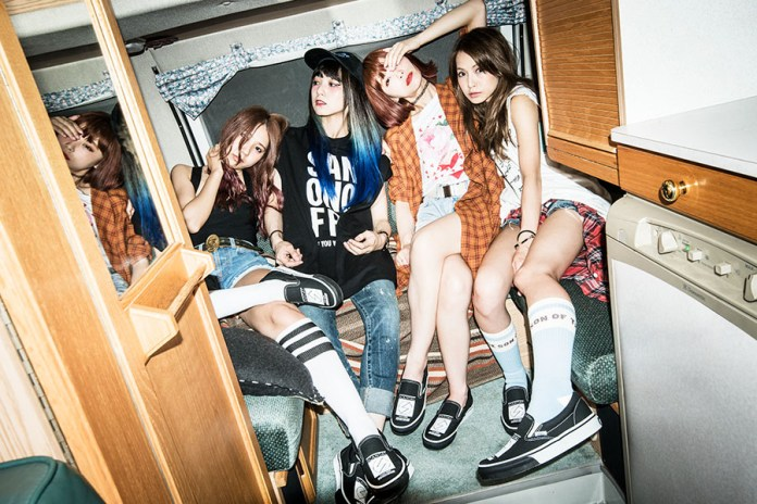 Vans Pays Tribute to Japanese Girl Rock Band SCANDAL