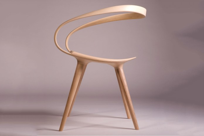 The Velo Chair Pushes Wood To Its Physical Limits