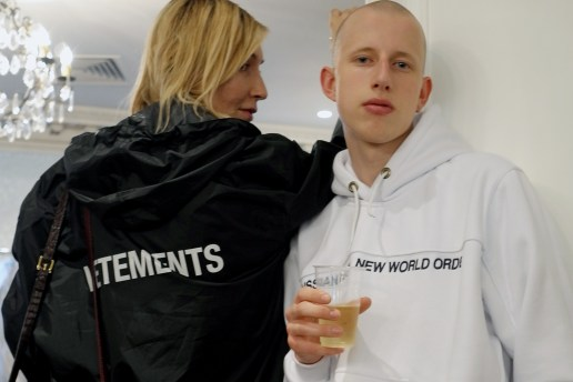Backstage at Vetements' 2017 Spring/Summer Collection